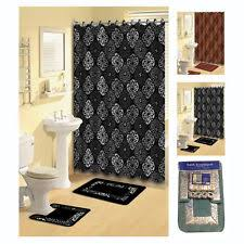 Julius Bath Rug Abstract Contemporary Shower Curtains Ebay