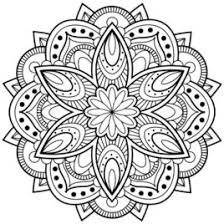 mandala art coloring pages kids drawing coloring pages