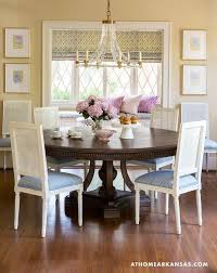 Pastel Dining Chairs Traditional Pastel Dining Room Features Dining Table Set By
