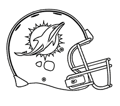 nfl football helmet coloring pages football miami dolphins coloring page kids coloring pages