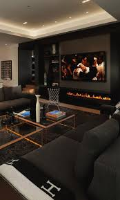 Homes Interiors And Living Home Designs Living Room Design Interior Black Living Rooms