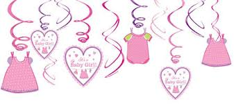 baby shower for girl it s a girl baby shower decorations party city