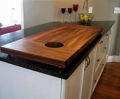 comptoir de cuisine sur mesure comptoir bois cuisine cool farmhouse sink with butcher block