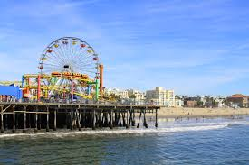 lexus santa monica address santa monica pier ferris wheel california pictures and main street