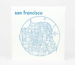 Map Of San Francisco by Archie U0027s Press Circle Map Of San Francisco At Buyolympia Com