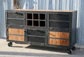 Rustic Bar Cabinet Combine 9 Industrial Furniture Rustic Bar Cart Liquor Cabinet