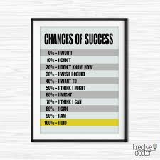 success quotes office wall art printable office quotes