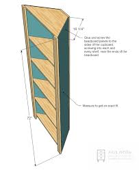Free Woodworking Plans For Corner Cabinets by Ana White Corner Cupboard Diy Projects