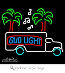 bud light lighted sign bud light beer truck neon sign only 299 99 signs b