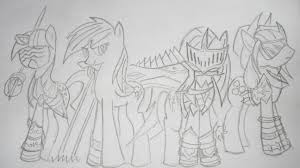 mlp sonic and the black knight sketch by pikashoe90 on deviantart