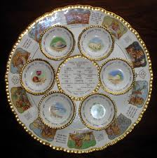 seder plate for sale vintage a spectacular seder dish by royal cauldon judaica for