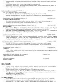 Sample Substitute Teacher Resume by Paraprofessional Resume Sample Principal Middle Special Education