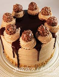 hazelnut truffle ferrero rocher cake layer cake creations