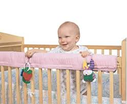 amazon com easy teether crib rail cover pink baby