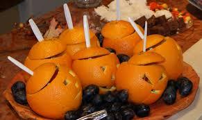 how to make halloween jack o lantern oranges