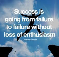 gratitude quotes churchill success failure loss enthusiasm winston churchill quotes