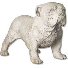 bulldog statues ornaments ebay