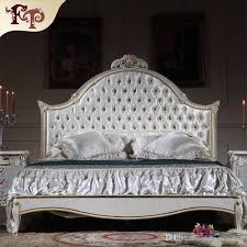 Rococo Bed Frame 2018 Antique Luxury Bedroom Furniture Rococo Bed Solid Wood
