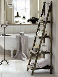 bathroom ladder bq ideas also cabinet with towel rail picture