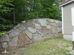 astonishing ideas stone retaining wall amazing landscape retaining