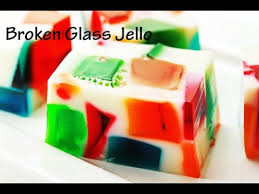 broken glass jello youtube