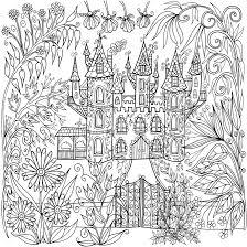 castle in flowers by welshpixie on deviantart