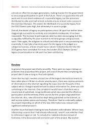 literature review example epq