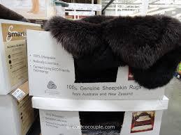 Lambskin Rugs Quad Genuine Sheepskin Area Rug
