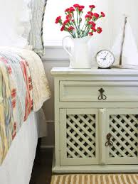 White Wood Furniture How To Distress Furniture Hgtv