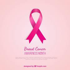 breast cancer awareness pink ribbon vector free