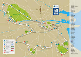 New York City Marathon Map by What You Should Consider If You Travel To The Dublin Marathon