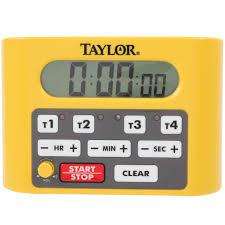 Camo Bedding For Boys Taylor 5839n Digital 4 Channel Commercial Kitchen Timer