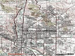 topographical map of colorado springs topographic map