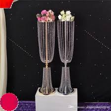 Tall Table Centerpieces by Elegant Crystal Table Top Chandelier Centerpieces For Wedding