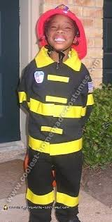Fireman Costume Coolest Homemade Firefighter Costume Ideas For Children