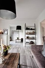 black and white decorating in eclectic style with industrial