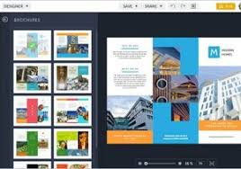 free travel brochure maker powerpoint trifold template travel