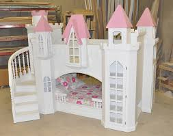 Castle Bunk Bed With Slide Braun Castle Bunk Bed A Perfect Princess Castle Bed For Your Home