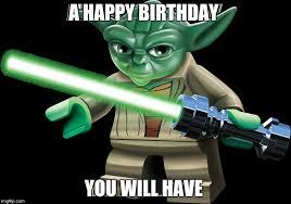 Star Wars Birthday Meme - my little cousin s birthday is today imgflip