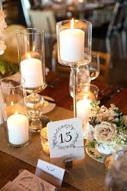 simple wedding centerpieces wedding candles decorations best candle wedding centerpieces ideas