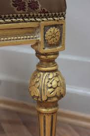 Esszimmerstuhl Auflagen Stuhl Antik Sitzmöbel Rahmen Sclaggold Bezug