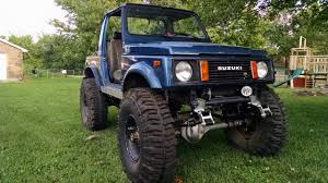 suzuki samurai lifted for sale 1987 suzuki samurai west of kansas city 9000 obo
