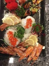 shogun japanese cuisine amaebi sashimi picture of izakaya shogun japanese sushi grill