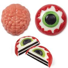 brain and eye cookie candy mold wilton