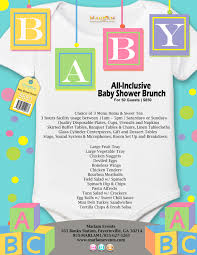baby shower brunch at marlam