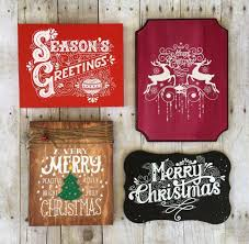 christmas signs diy screen printing custom wooden christmas signs