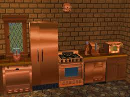 Copper Kitchen Backsplash Ideas Countertops Copper Kitchen Appliances Brushed Cooper Appliance
