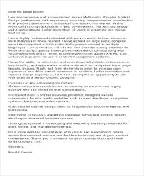 11 designer cover letters free sample example format download
