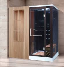 Shower Room Door Steam Shower Sauna Combo Foshan Luxe Sanitary Wares Co Ltd