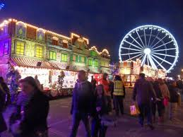 area of the funfair 2014 picture of winter